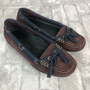 L.L. Bean // Leather & Suede House Loafer